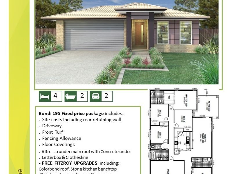 Bondi 195 House and Land Package