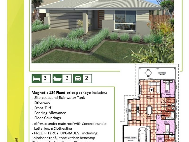 Magnetic 184 House and Land Package