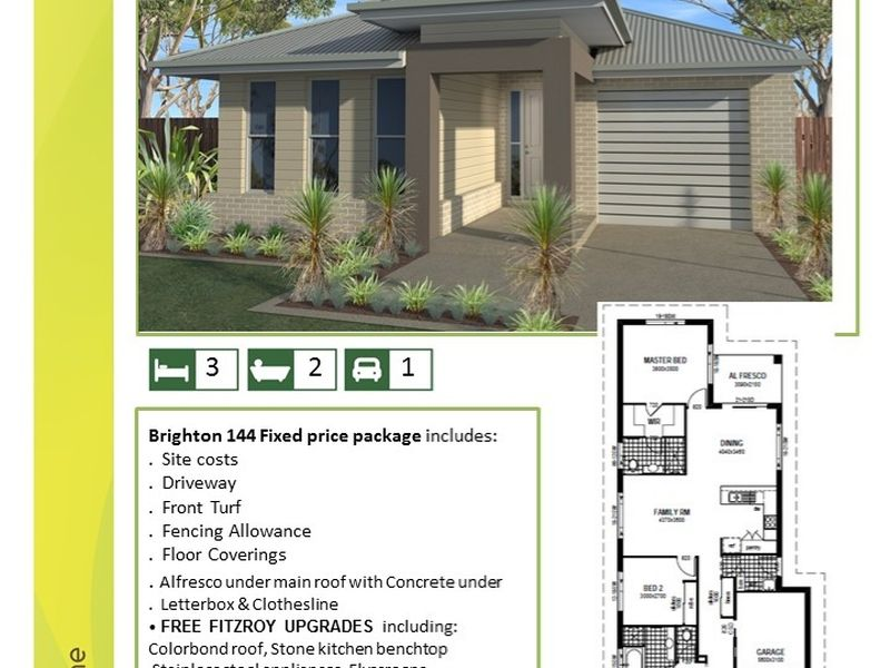 Brighton 144 House and Land Package