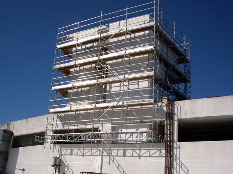 INSTANT ALLOY SCAFFOLDING