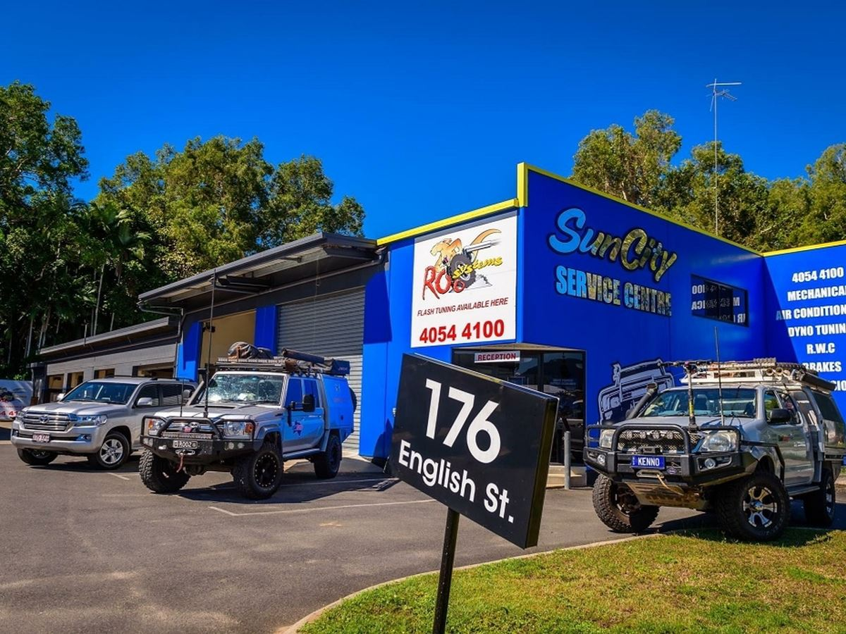 MECHANICAL WORKSHOP IN CAIRNS FOR SALE