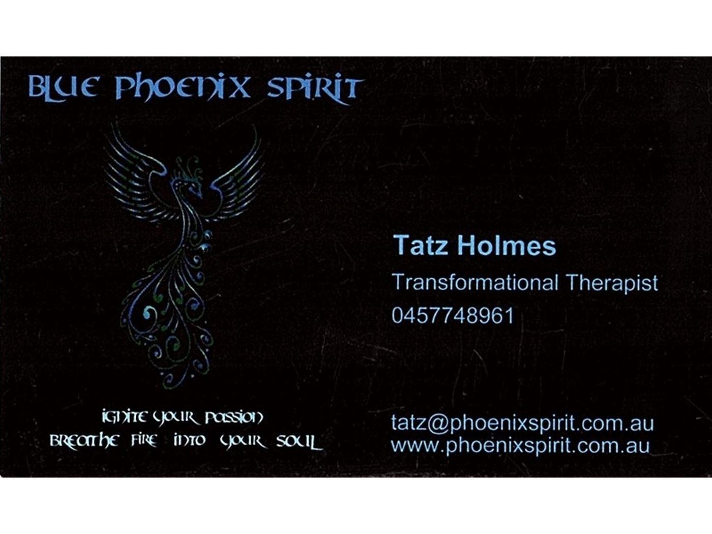 Blue Pheonix Spirit