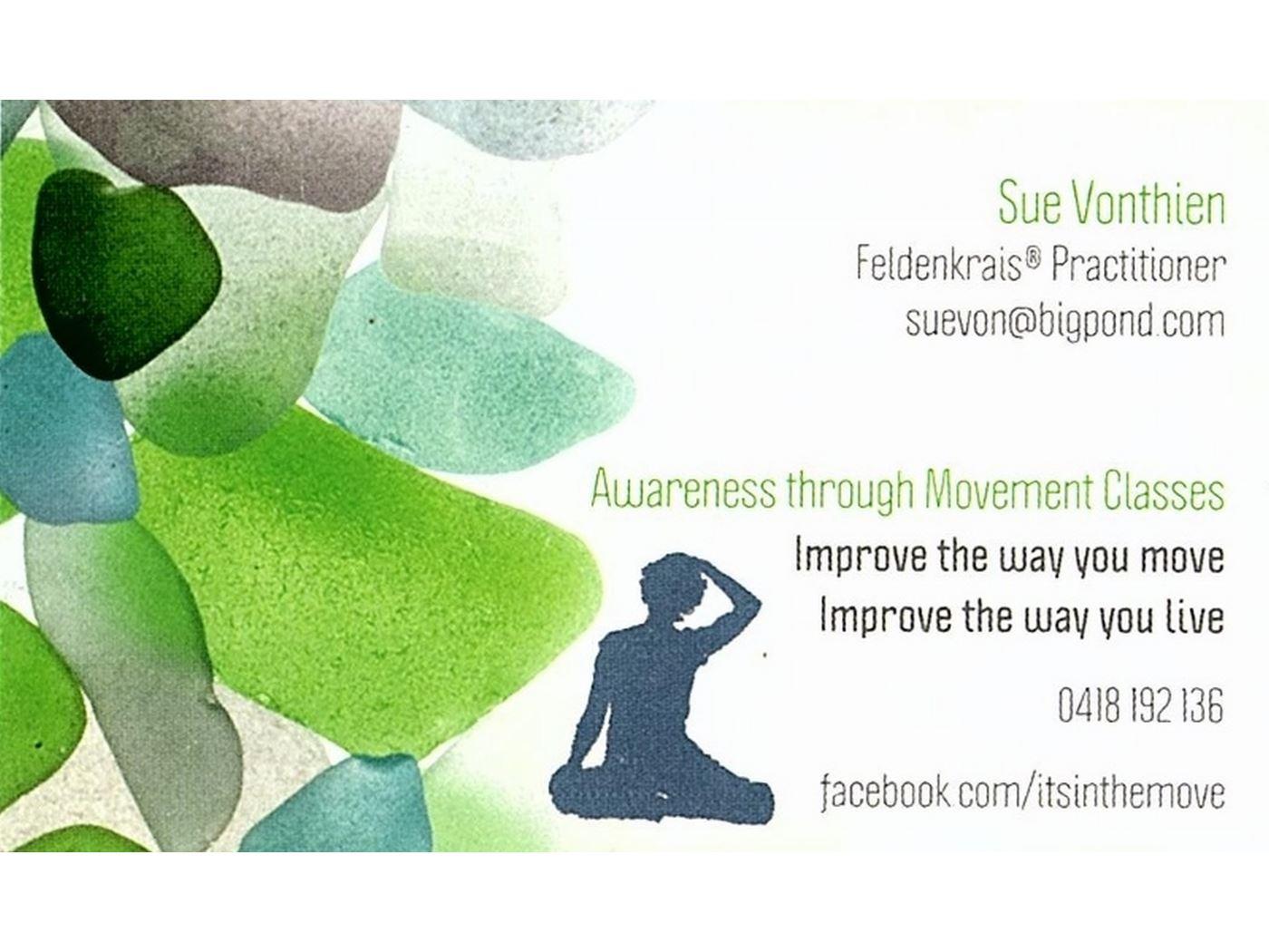 Its In the Move, Sue Vonthien