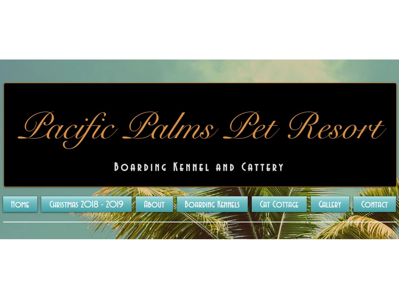 Pacific Palms Pet Resort