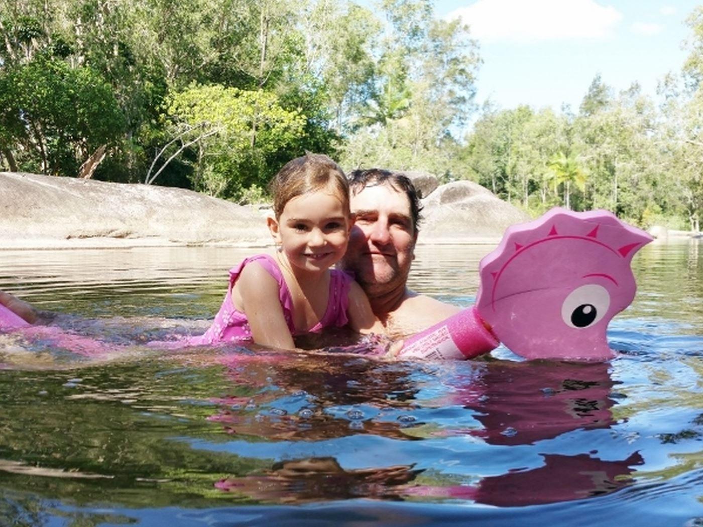Swimming Naturally