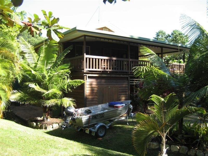Queenslander style in rainforest