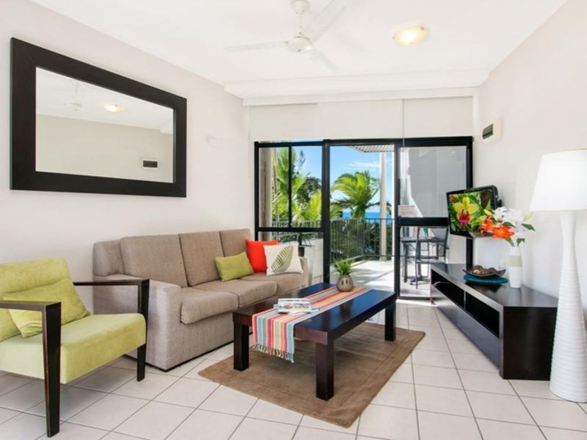 Fully Furnished Studio with Ocean & Mountain Views