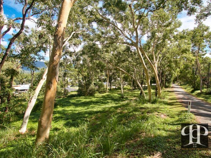 A short walk to the Trinity beach