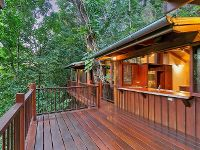 EXCLUSIVELY PRIVATE, ELEVATED, RAINFOREST HAVEN.